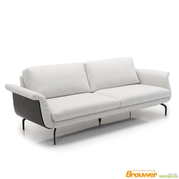 design-bank-houten zijkant-3zit-witte zitbank