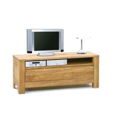 3000 tv-meubel eiken massief klein 115 cm
