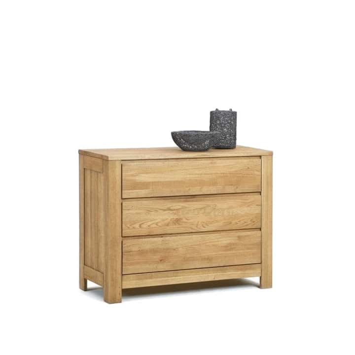Commode eiken ladekast massief 3000 serie