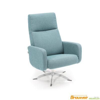 draaifauteuil lichtblauw stoel goedkope fauteuil