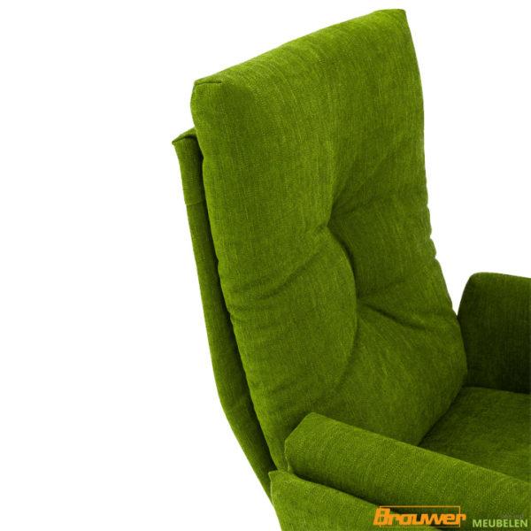 1443 fauteuil groen draaifauteuil