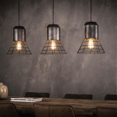 industriele hanglamp zwart shuttle