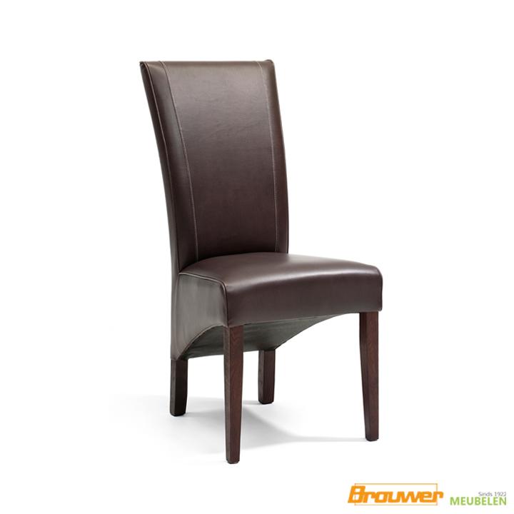 elegante stoel leer eetkamerstoel