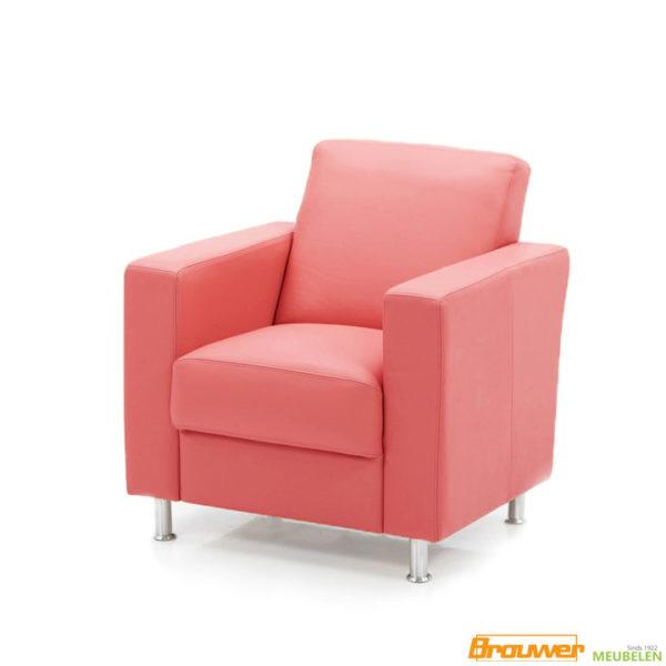 fauteuil rood leer