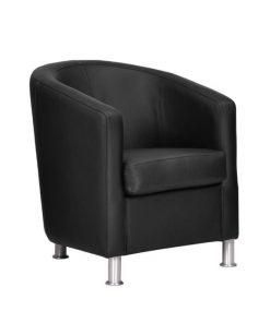 zwart-kuip-fauteuil-stoer-leer