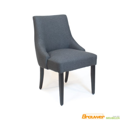 eetkamerstoelen landelijk antraciet stoelen