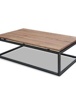 stoere salontafel 130x70 eiken 650