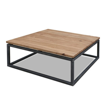 stoere salontafel hout eiken