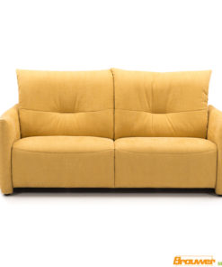 bank met relaxfunctie gele bank verstelbare armleuning