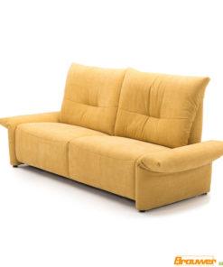 gele bank verstelbare armleuning relaxbank