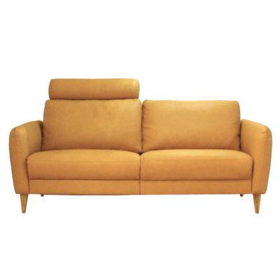 relaxbank-trendy-geel-houten-pootjes