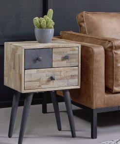 ladekastje-bijzettafel-lade-teakhout-meubel-stoer