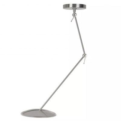plafondlamp sapporo nikkel mat LED