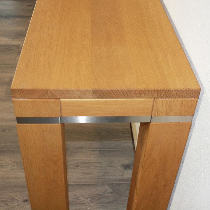 Blank Eiken Side Table.Sidetable Evo Blank Eiken