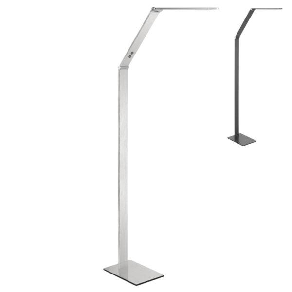 moderne vloerlamp heerhugowaard optimus nikkel mat
