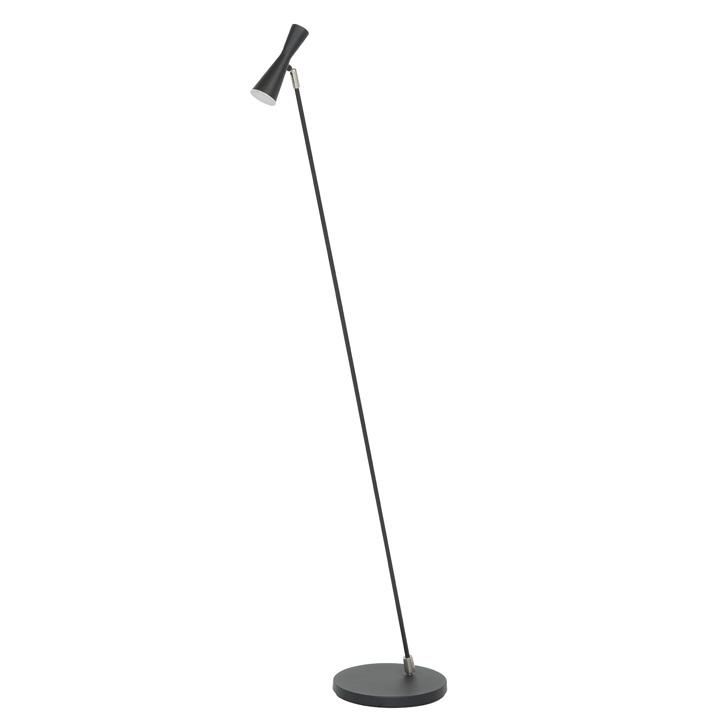 LED lamp vloerlamp zwart kantelbaar dimbaar