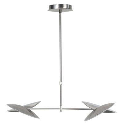 LED hanglamp sapporo nikkel mat