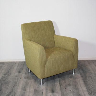 groene fauteuil geel nadia