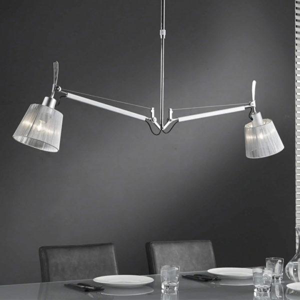 verstelbare hanglamp kap modern