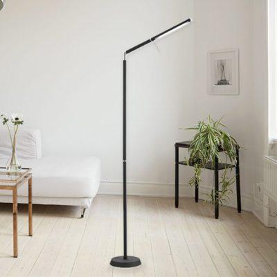 leeslamp LED zwart kantelbaar 6W