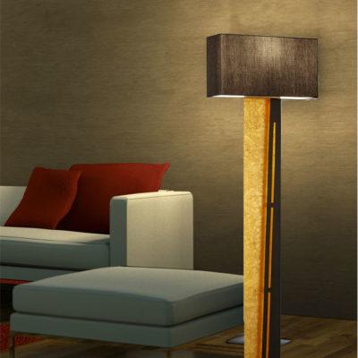 vloerlamp warm licht LED