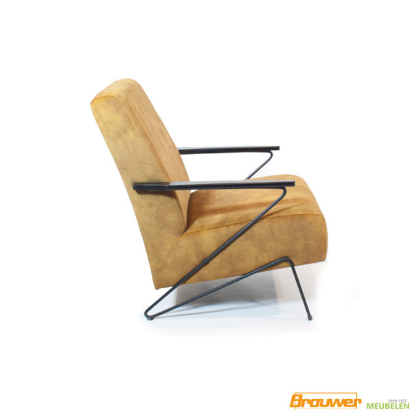 velours fauteuil stoel noord-holland