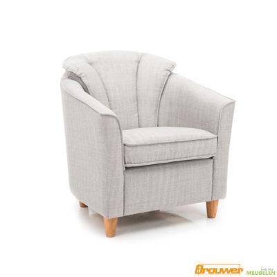 fauteuil club licht aparte rug