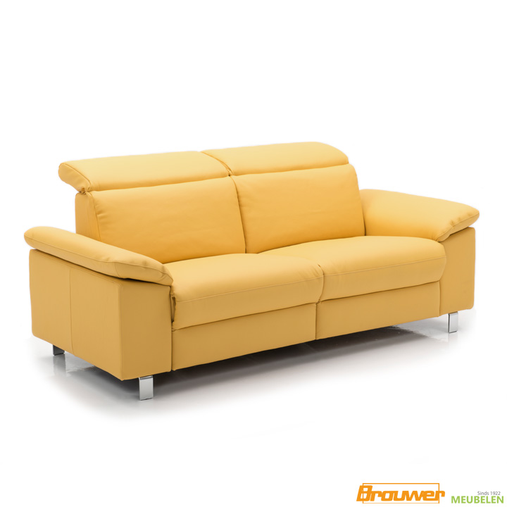 relaxbank-leer-met-hoofdsteunen-verstelbaar-geel