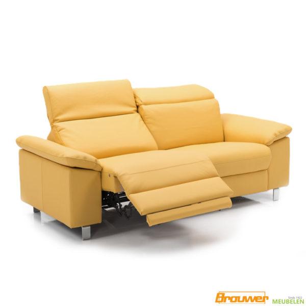 relaxbank-noord-holland-geel-leer-verstelbare-zitting