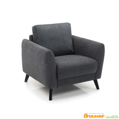 grote fauteuil antraciet loveseat