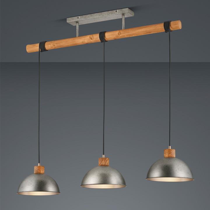 industriele hanglamp hout