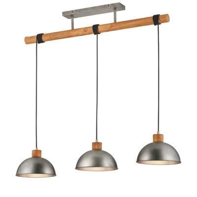 hanglamp hout balk