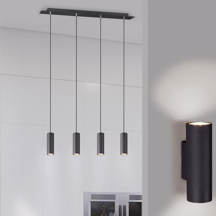 moderne hanglamp roest kleur
