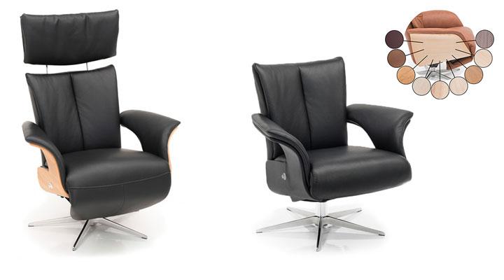 relaxfauteuil met bijpassende fauteuil