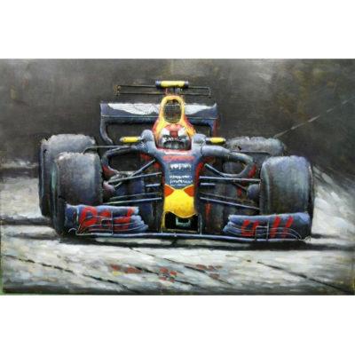 verstappen schilderij F1