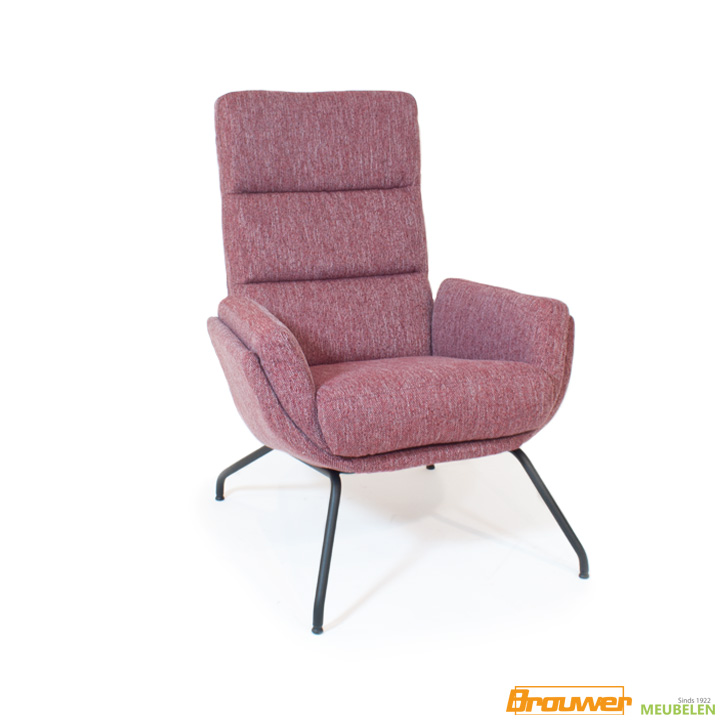 bordeaux rood fauteuil donker rood