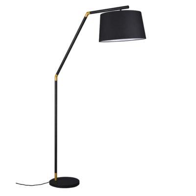 booglamp zwart met kap