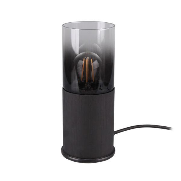 tafellamp rookglas