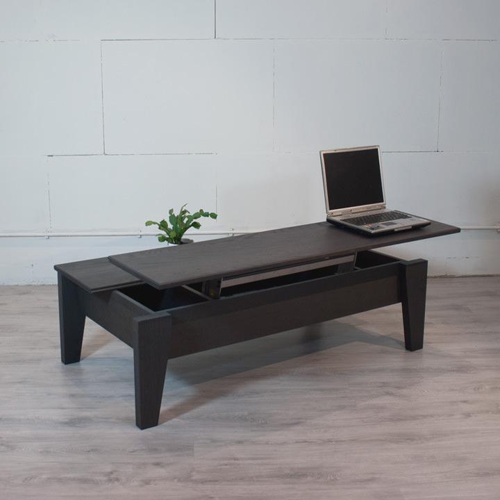 salontafel met bergruimte laptop salontafel zwart