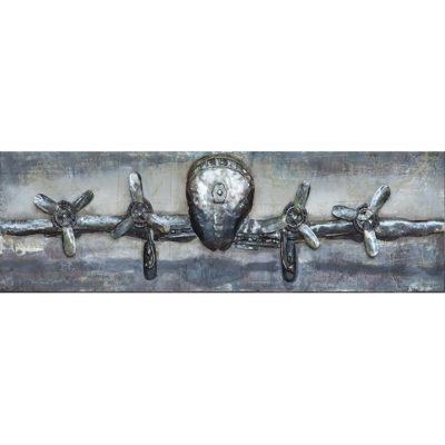 blauw-grijs-vliegtuig-schilderij-heerhugowaard