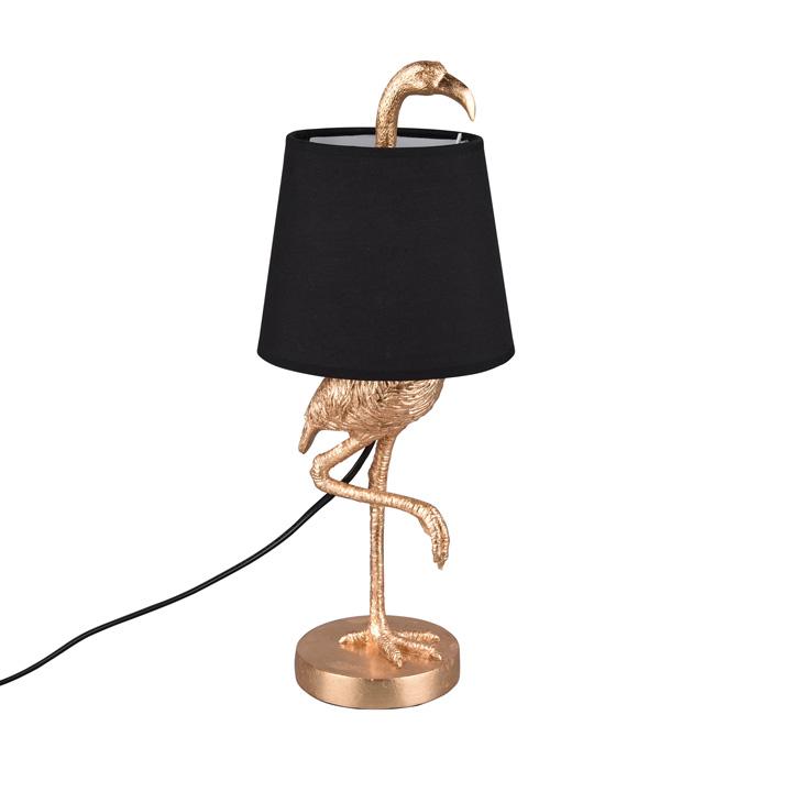 tafellamp-vogel-goud-zwartekap