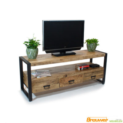 tv-meubel-britt-mangohout-3lade mango