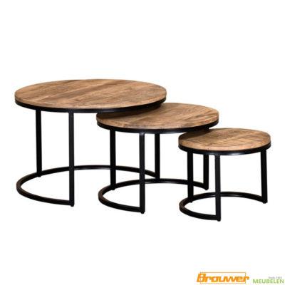 salontafel-set-mangohout