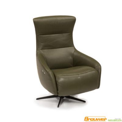 relaxfauteuil-leer-groen-moss-leder