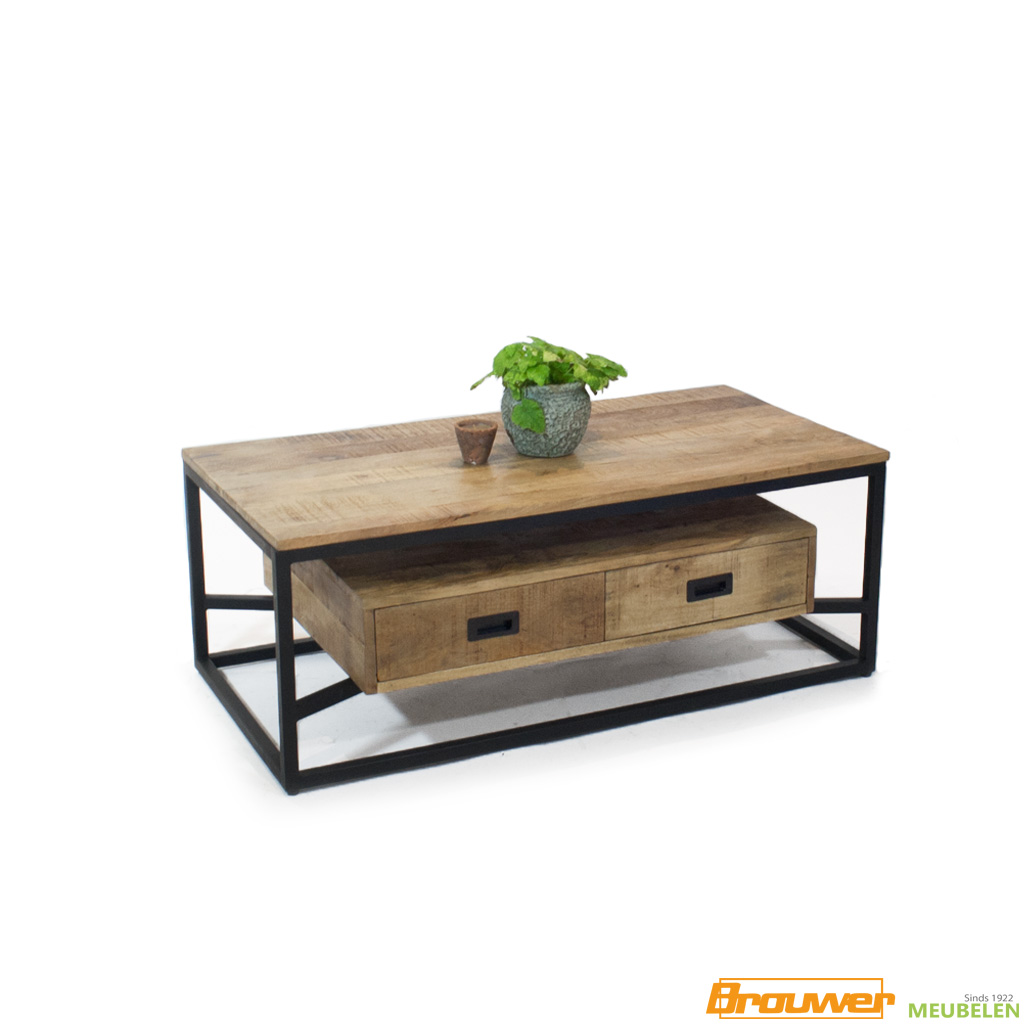 salontafel-mangohout-met-lade-120x60-140x70 cm-zwevend