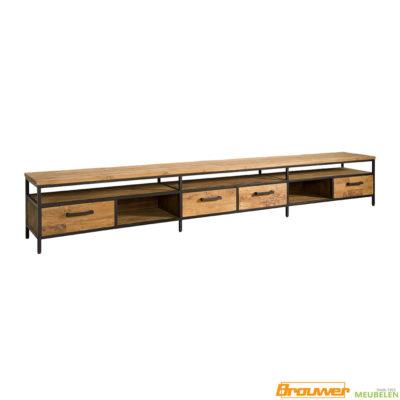 tv-meubel-3-meter-300cm-teakhout-lang-tv-dressoir-meubel