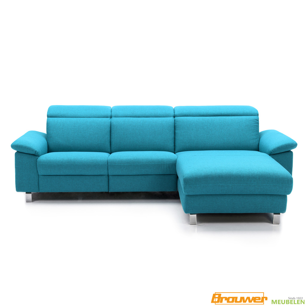 chaise longue bank long chair met relaxf verstelbare armleuning modern