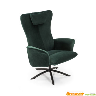 draaifauteuil groen modern groene draaistoel