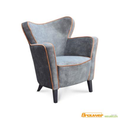 sierlijke fauteuil met biesje stoel hip