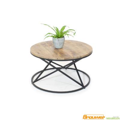 salontafel rond mangohout